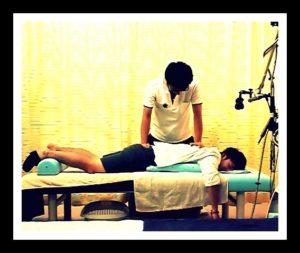 青葉台でバランス療法を重視した施術写真