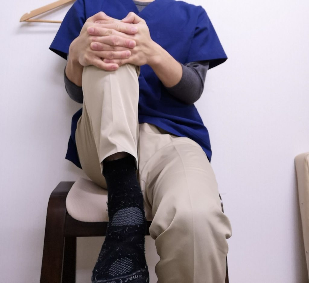 股関節の硬さチェック4