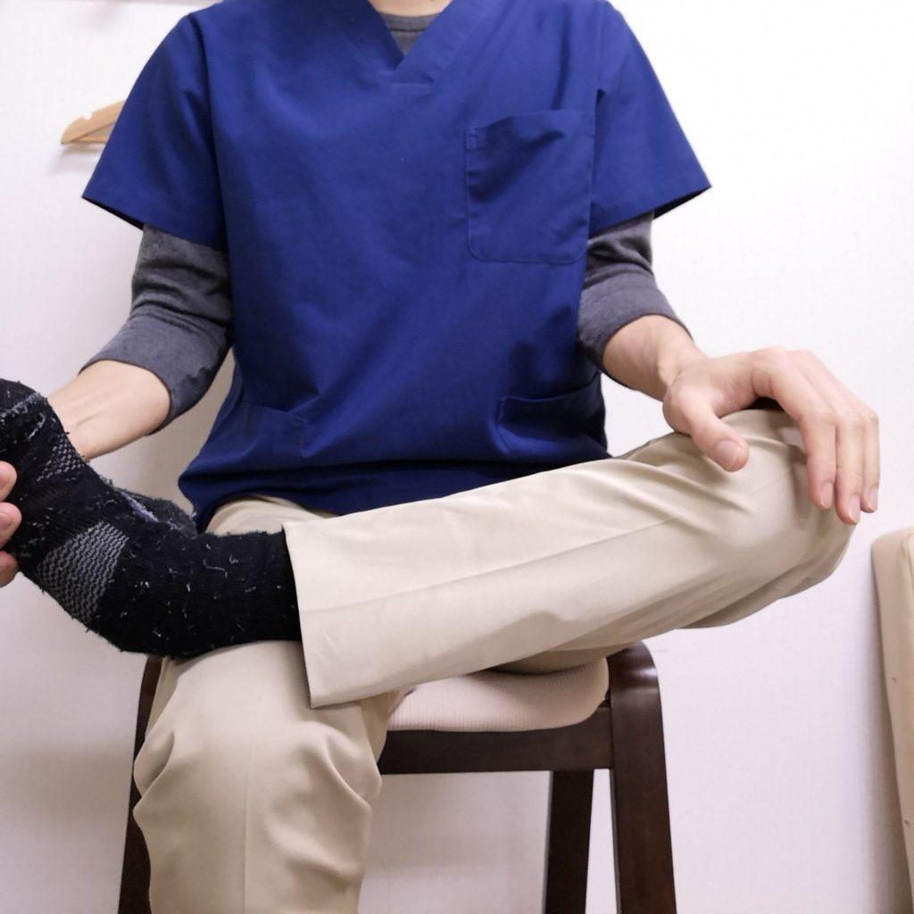 股関節の硬さチェック1
