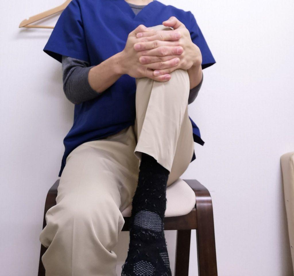 股関節の硬さチェック2