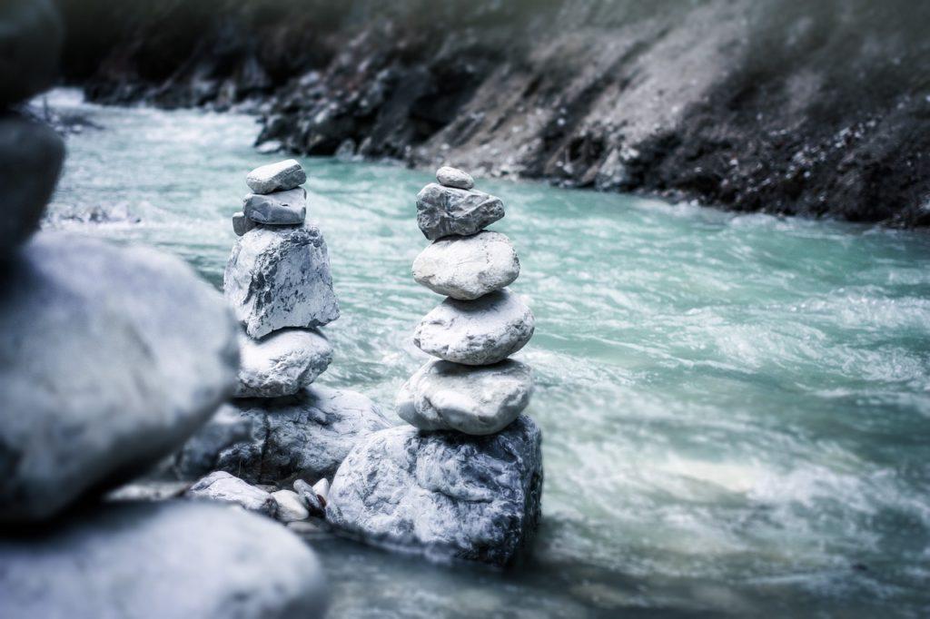 川の流れのイメージ