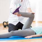 股関節の可動域をチェック